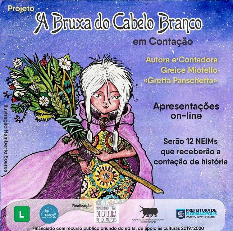Contação de histórias para crianças acontece em NEIMs de Floripa
