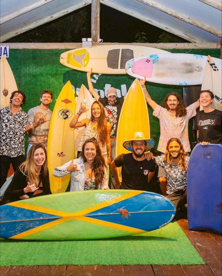 Festival de cinema de surfe