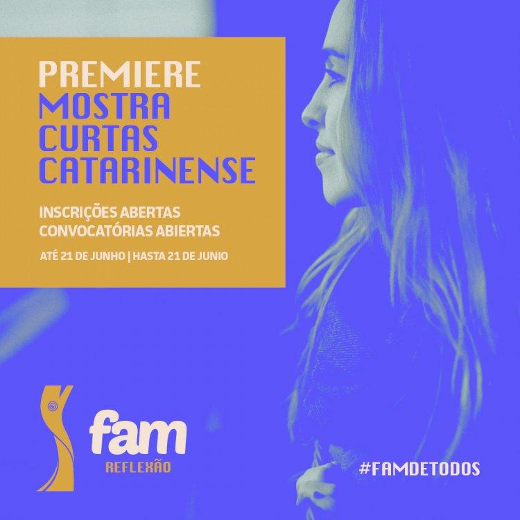 FAM 2021 recebe inscrições de filmes Catarinenses em Première