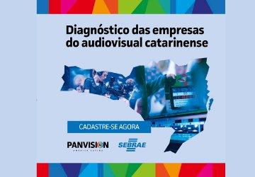Oportunidade para diagnóstico das empresas do Audiovisual Catarinense